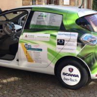Erstes Elektro-Dienstfahrzeug für das Eninger Rathaus