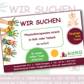 Physiotherapeut (m/w/d) gesucht