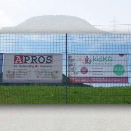 Neuer kidKG Banner für TSV Eningen 1848 Fußball